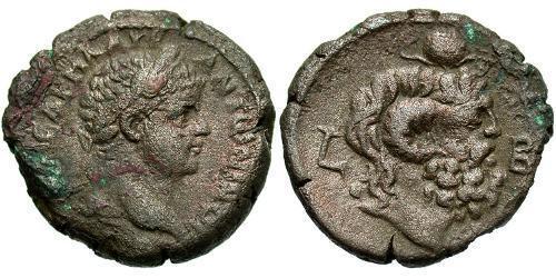1 Tetradrachm Roman Empire (27BC-395) Silver Elagabalus (203-222)