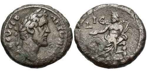 1 Tetradrachm Roman Empire (27BC-395) Silver Antoninus Pius  (86-161)