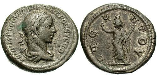 1 Tetradrachm Roman Empire (27BC-395) Silver Severus Alexander (208-235)