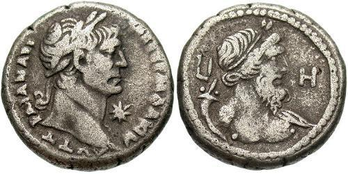 1 Tetradrachm Roman Empire (27BC-395) Silver Trajan (53-117)