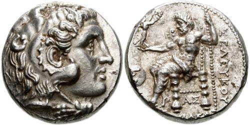 1 Tetradrachm Seleucid Empire (312BC-63 BC) Silver Seleucus I Nicator (358BC-281BC)
