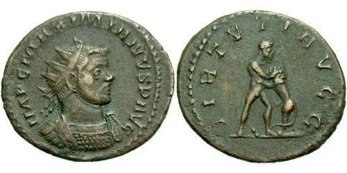 1 Tetradrachm Roman Empire (27BC-395)  Maximianus (250-310)