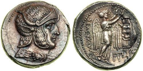 1 Tetradracma Antigua Grecia (1100BC-330) Plata Seleuco I Nicátor(358BC-281BC)