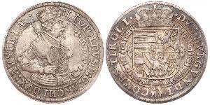 1 Thaler 哈布斯堡君主國 銀 Leopold V, Archduke of Austria (1586 – 1632)