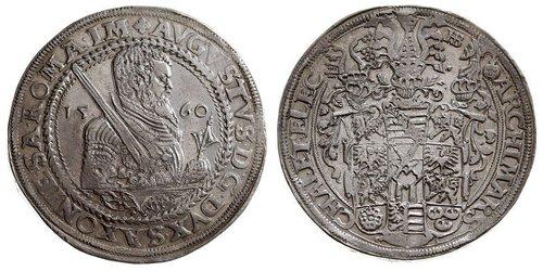 1 Thaler Électorat de Saxe (1356 - 1806) Argent