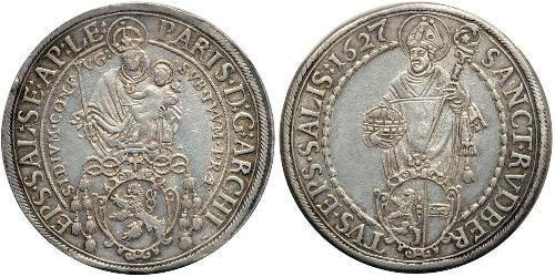 1 Thaler Saint-Empire romain germanique (962-1806) Argent