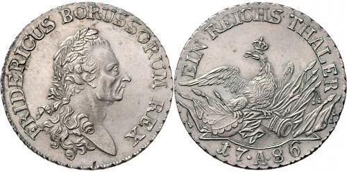 1 Thaler Regno di Prussia (1701-1918) Argento Federico II di Prussia (1712 – 1786)