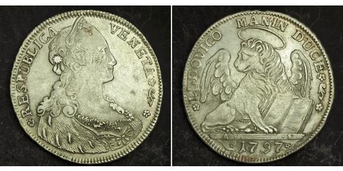 1 Thaler República de Venecia (697—1797) / Italian city-states Plata