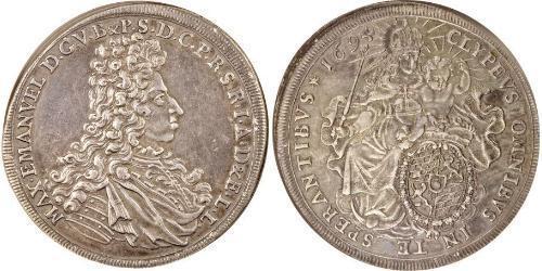 1 Thaler Kurfürstentum Bayern (1623 - 1806) Silber
