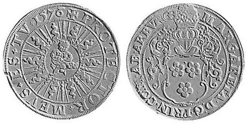 1 Thaler County of Arenberg (1549 - 1810) Silver