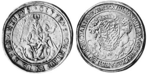 1 Thaler Duchy of Bavaria (907 - 1623) Silver