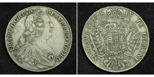 1 Thaler Holy Roman Empire (962-1806) Silver Francis I, Holy Roman Emperor (1708-1765)