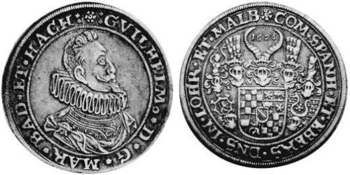 1 Thaler Margraviate of Baden (1112 - 1803) Silver
