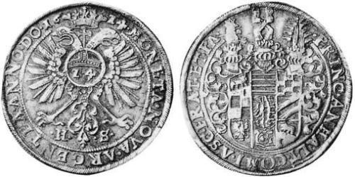 1 Thaler Principality of Anhalt (1212 - 1806) Silver