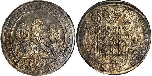 1 Thaler Principality of Ansbach (1398–1792) Silver