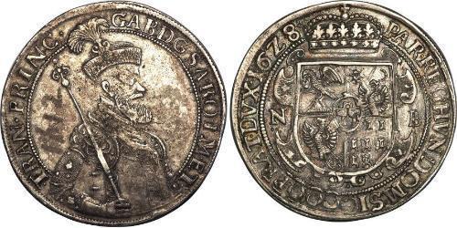 1 Thaler Principality of Transylvania (1571-1711) Silver Gabriel Bethlen, prince of Transylvania (1580-1629)