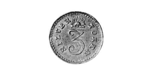1 Threepence Australia (1788 - 1939) Silver