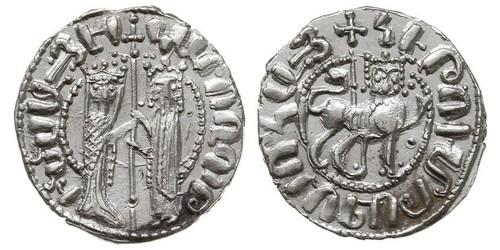 1 Tram Reino armenio de Cilicia (1080-1375) Plata Hethum I (?-1271)
