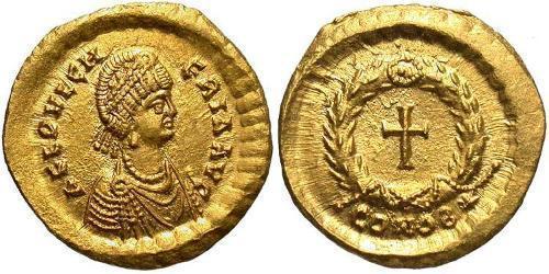 1 Tremissis  Byzantine Empire (330-1453) Gold