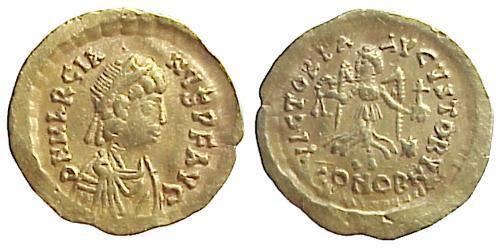 1 Tremissis  Byzantine Empire (330-1453) Gold Marcian (392-457)