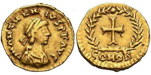 1 Tremissis  Western Roman Empire (285-476) Gold Procopius Anthemius (420- 472)