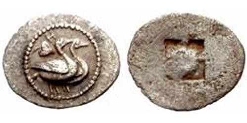 1 Tritartemorion Ancient Greece (1100BC-330) Silver