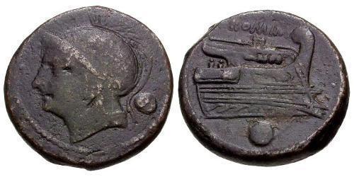 1 Uncia Roman Republic (509BC-27BC) Bronze