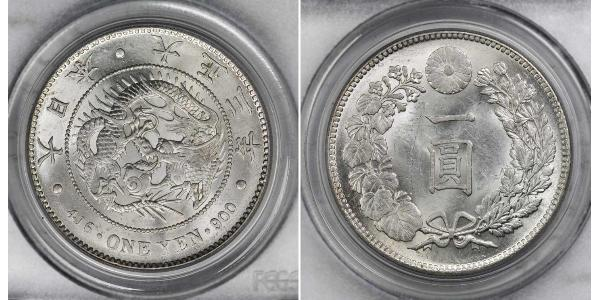 1 Yen Empire du Japon (1868-1947) Argent Taishō Tennō (1879 - 1926)
