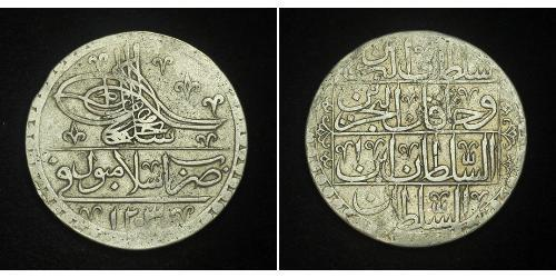 1 Yuzluk / 100 Para Empire ottoman (1299-1923) Argent Selim III