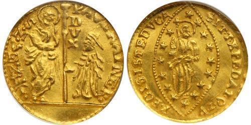 1 Zecchino Италия Золото