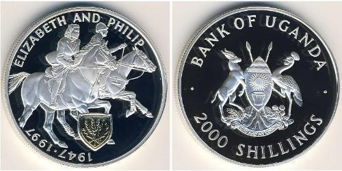 2000 Шиллинг Уганда Серебро