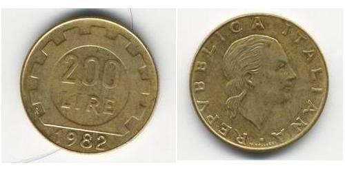 200 Лира Италия
