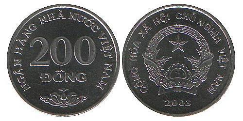 200 Dong Vietnam Steel/Nickel