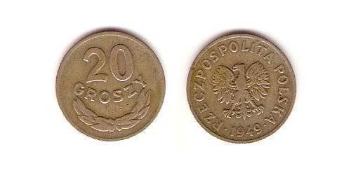 20 Грош Польша Никель/Медь