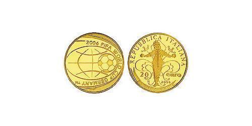 20 Евро Италия Золото
