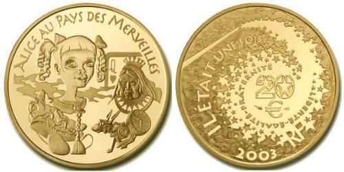 20 Евро Пятая французская республика (1958 - ) Золото