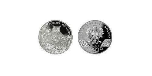 20 Злотый Республика Польша (1991 - ) Серебро