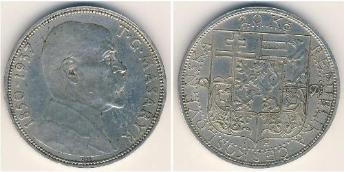 20 Крона Чехословакия (918-1992) Серебро
