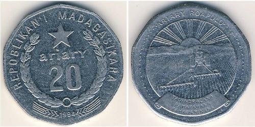 20 Крона Мадагаскар