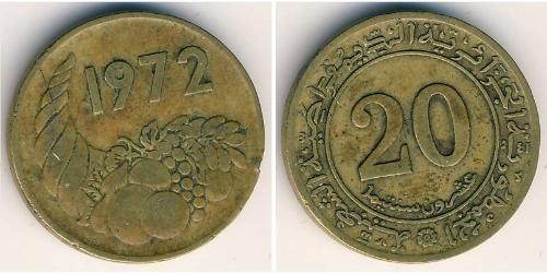 20 Сент Алжир Латунь