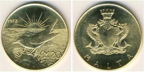 20 Фунт Мальта Золото