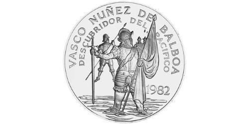 20 Balboa Republic of Panama Silver