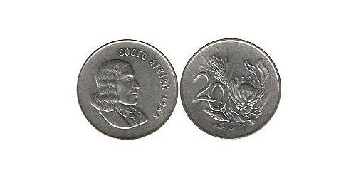 20 Cent South Africa Nickel