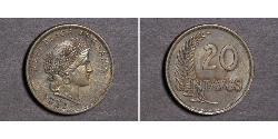 20 Centavo Peru