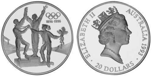 20 Dollar Australia (1939 - ) Silver