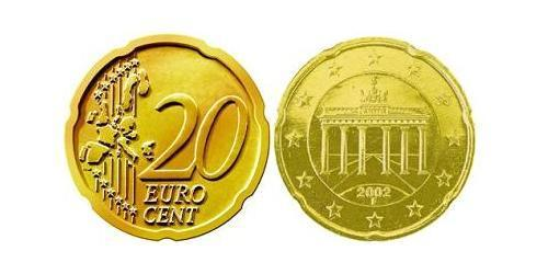 20 Eurocent Germany Tin/Aluminium/Copper/Zinc