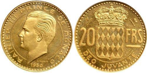 20 Franc Monaco Gold