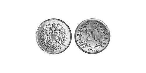 20 Heller Austria-Hungary (1867-1918) Iron