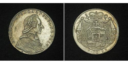 20 Kreuzer Salzburg 銀 Count Hieronymus von Colloredo (1732 - 1812)