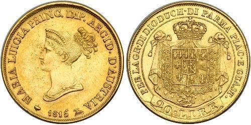 20 Lira Italian city-states Gold